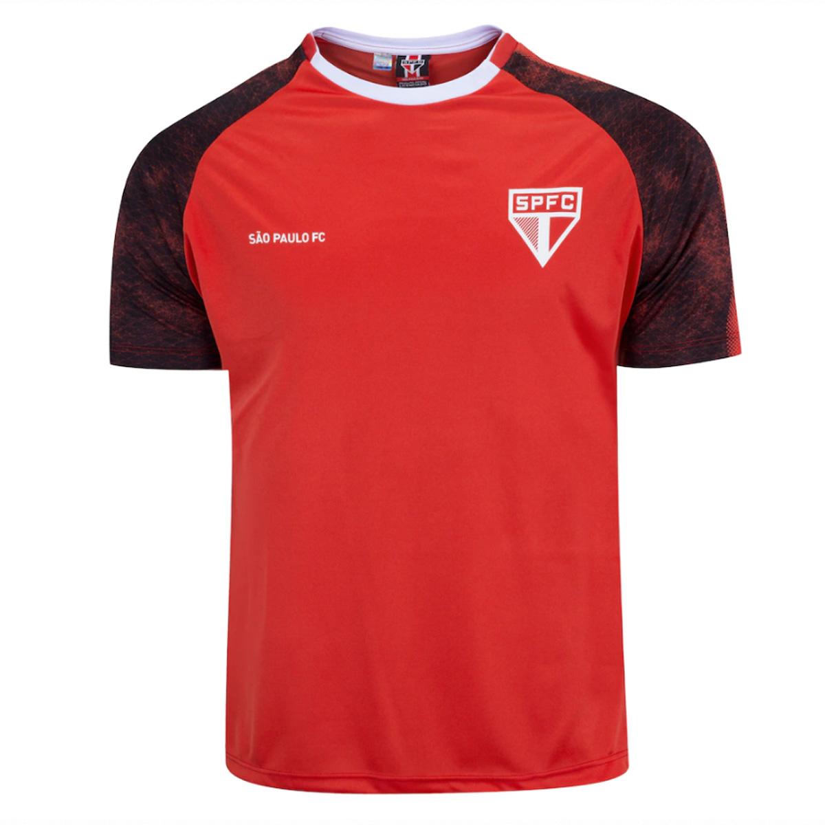 CAMISETA SÃO PAULO FC CLIMBER MASCULINA VERMELHA