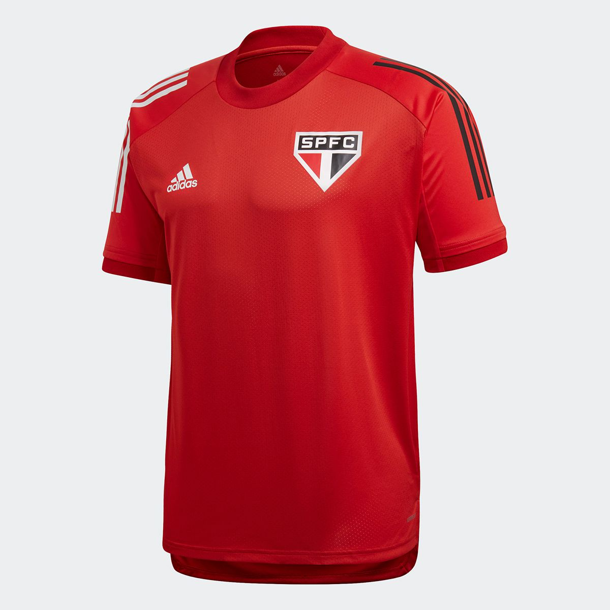 CAMISETA SÃO PAULO FC TREINO ADIDAS VERMELHA 2020