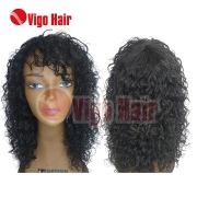 Peruca Wig Cabelo Humano Modelo Mali