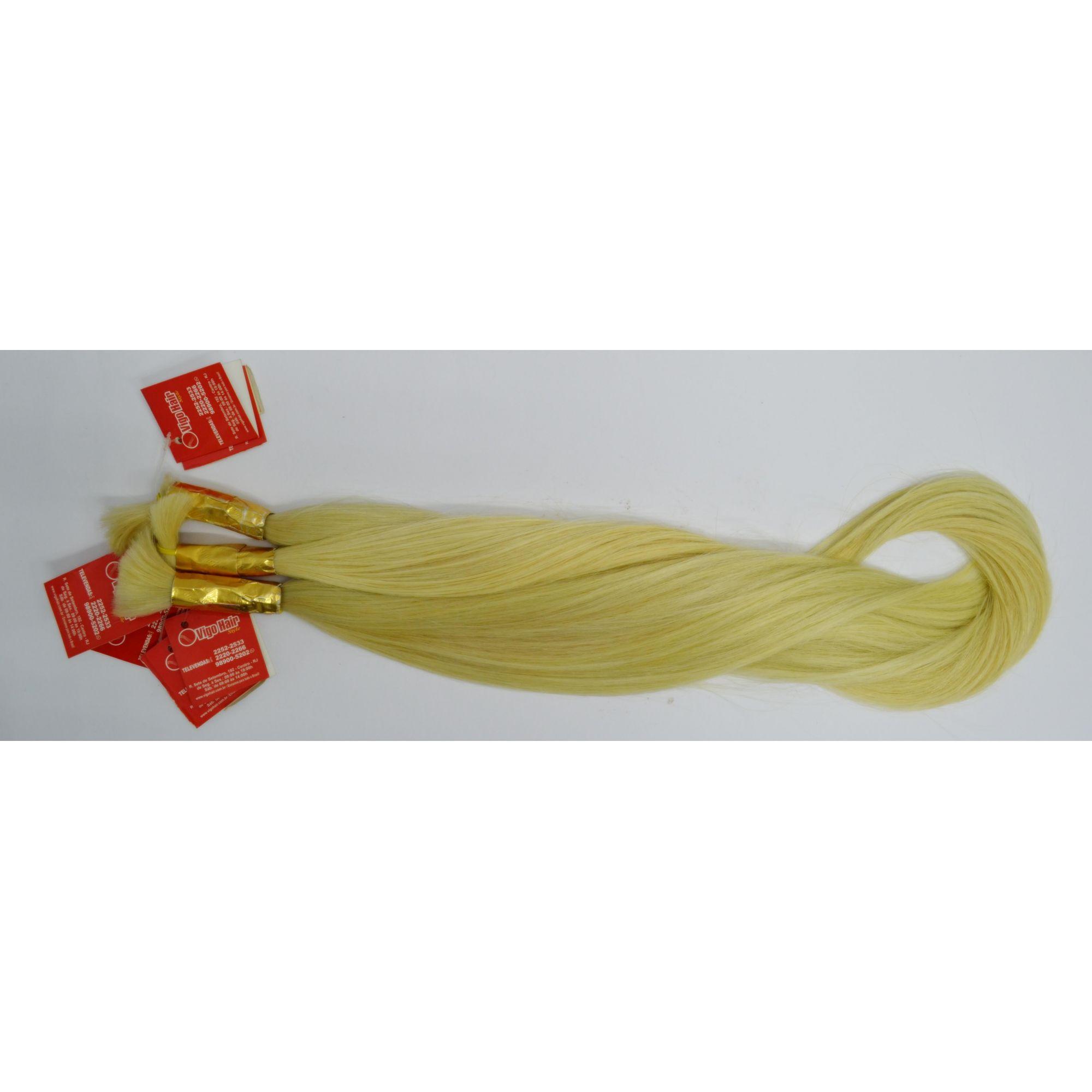 Cabelo Humano Descolorido Russo (50 gramas)