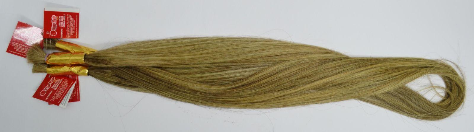 Cabelo Humano Mesclado Perolado (50 gramas)