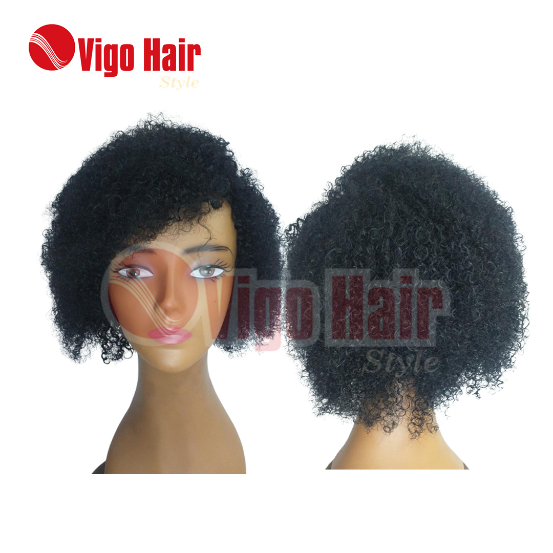 Peruca Wig Cabelo Humano Modelo Linda cor 1