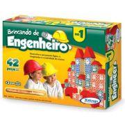 Brincando De Engenheiro 42 Peças - Xalingo Brinquedos