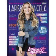 Caderno Brochura Pequeno 40 folhas Larissa Manoela - Tilibra