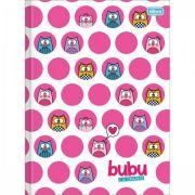 Caderno Brochura Pequeno 80 folhas Bubu e as Corujinhas - Tilibra