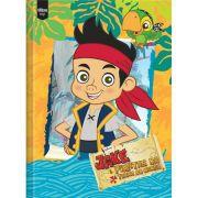 Caderno Brochura Pequeno 96 folhas Jake e os piratas - Tilibra