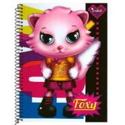 Caderno Pequeno foxy 96 folhas - Credeal