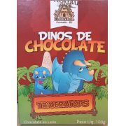 Chocolate Florybal - Dinos de chocolate Triceratops 100g