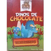 Chocolate Florybal - Dinos de chocolate Triceratops 100g