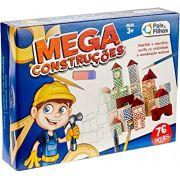 Mega Construções - Pais & Filhos 45 Peças