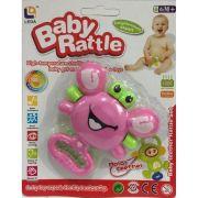 Mordedor Carangueijo chocalho - Baby Rattle