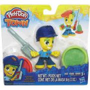 Play-Doh - Town Figura e Acessório Pequeno Policial