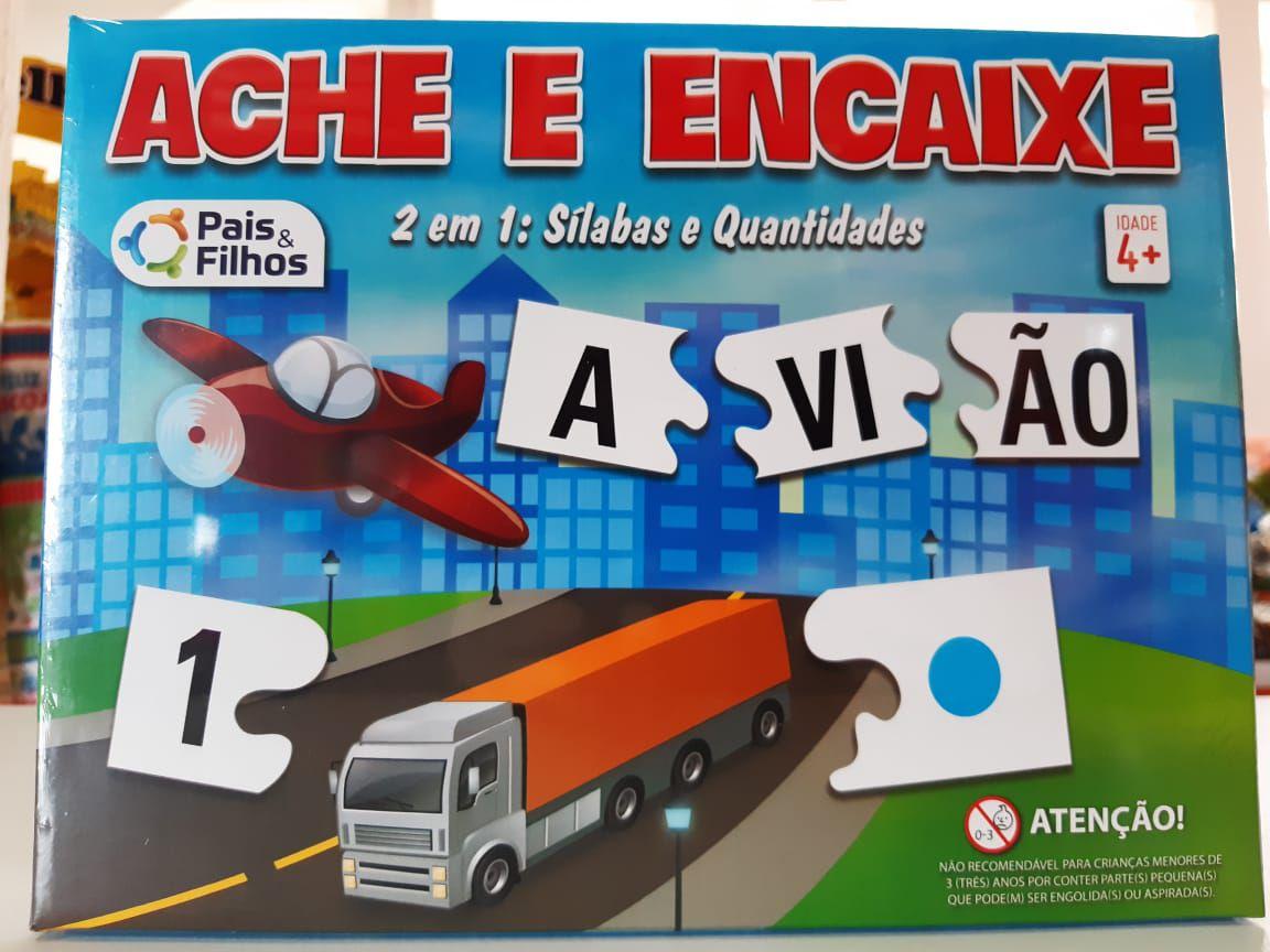 ACHE E ENCAIXE - PAIS E FILHOS