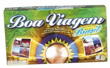Boa Viagem Brasil - Jogo Educativo Cartonado