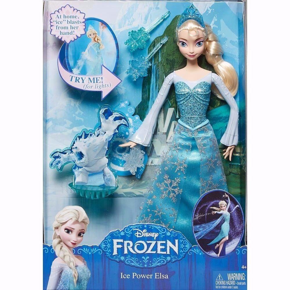 Boneca Frozen Disney -  Elsa em Ação- Mattel