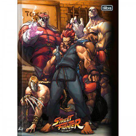 Caderno Brochura Pequeno 80 folhas Street Fighter - Tilibra