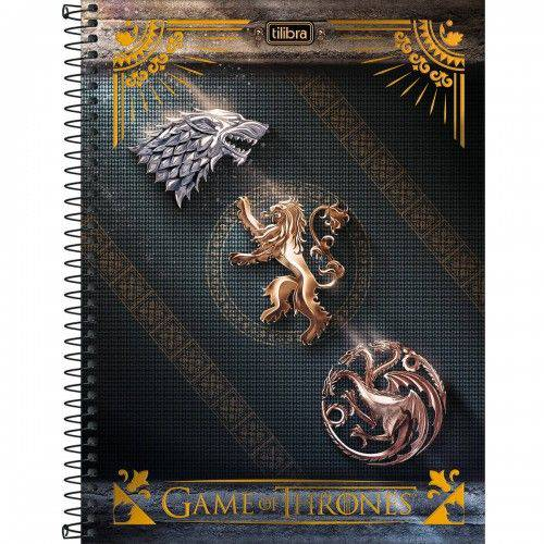 Caderno Espiral Game Of Thrones - Tilibra