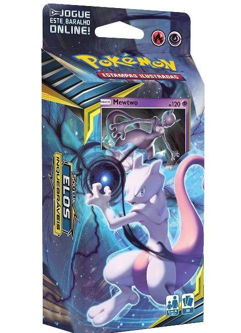 Caixa Cartas Pokémon Sol E Lua : Elos Inquebráveis - Copag