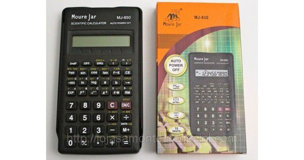 Calculadora Cientifica MJ 850 -Moure Jar