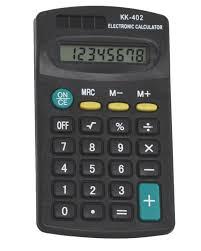 Calculadora Pocket MJ 402 - Moure Jar