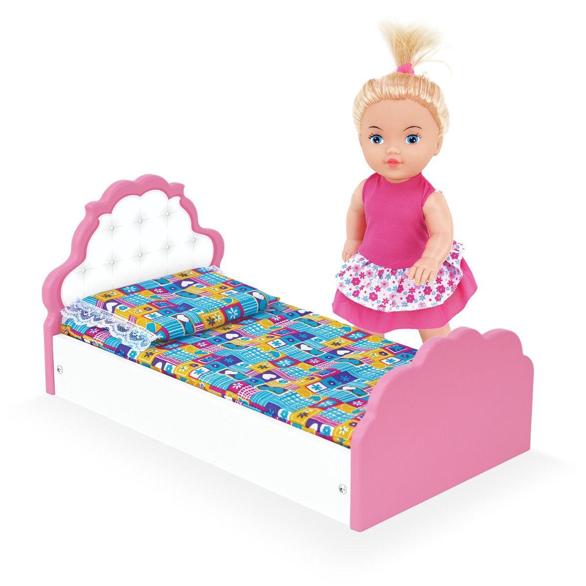 Cama de Bonecas Mimadinha - Junges brinquedos