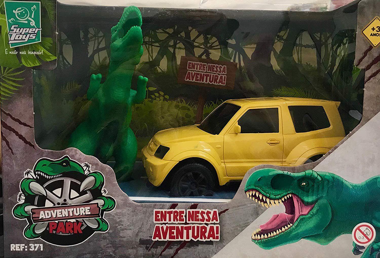 Carro com Dinossauro - Super Toys