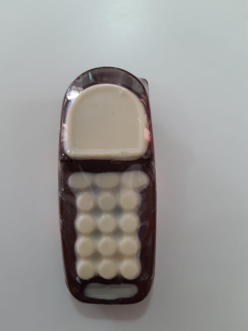 Choco Prove - Celular de Chocolate Ao Leite 90g