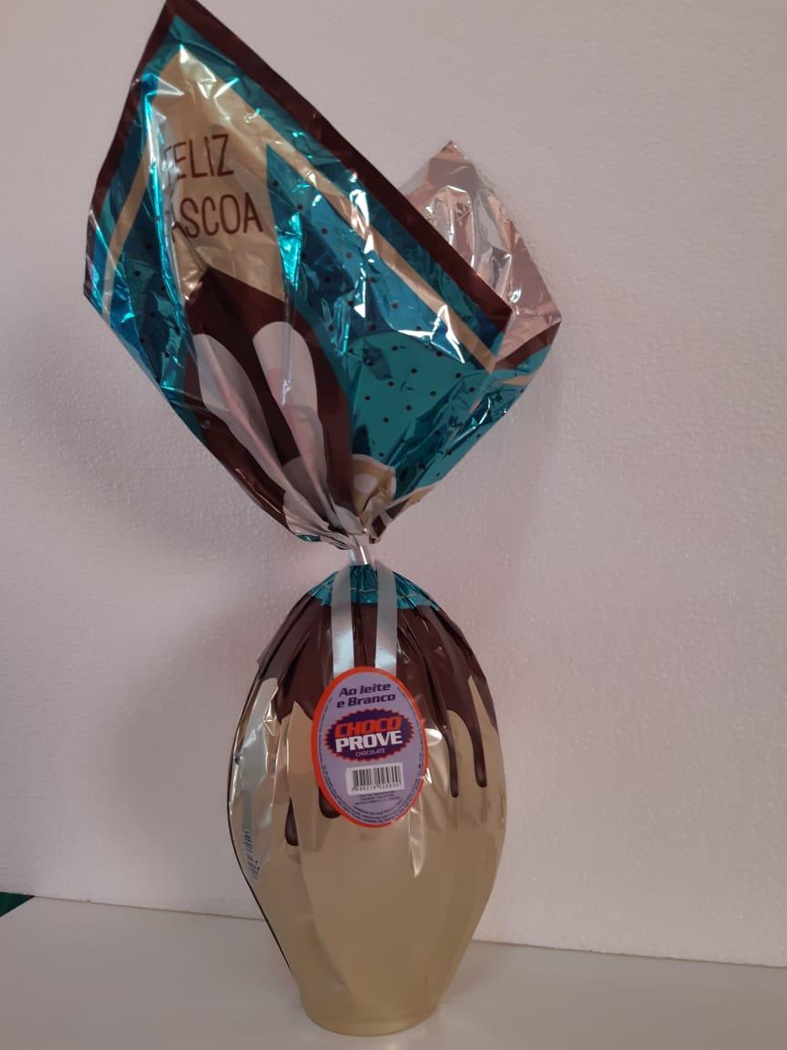 Choco Prove - Chocolate Ao Leite e Branco 680g