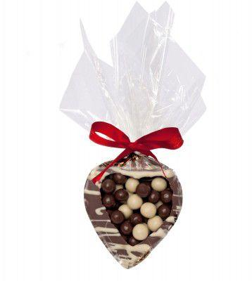 Chocolate Florybal - Coração c/ Drágeas 100g