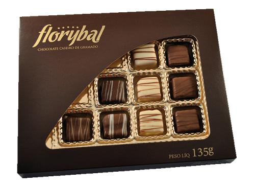Chocolate Florybal -Cx Bombons 135g