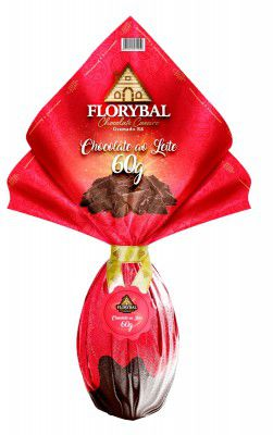 Chocolate Florybal - Ovo ao Leite 60g