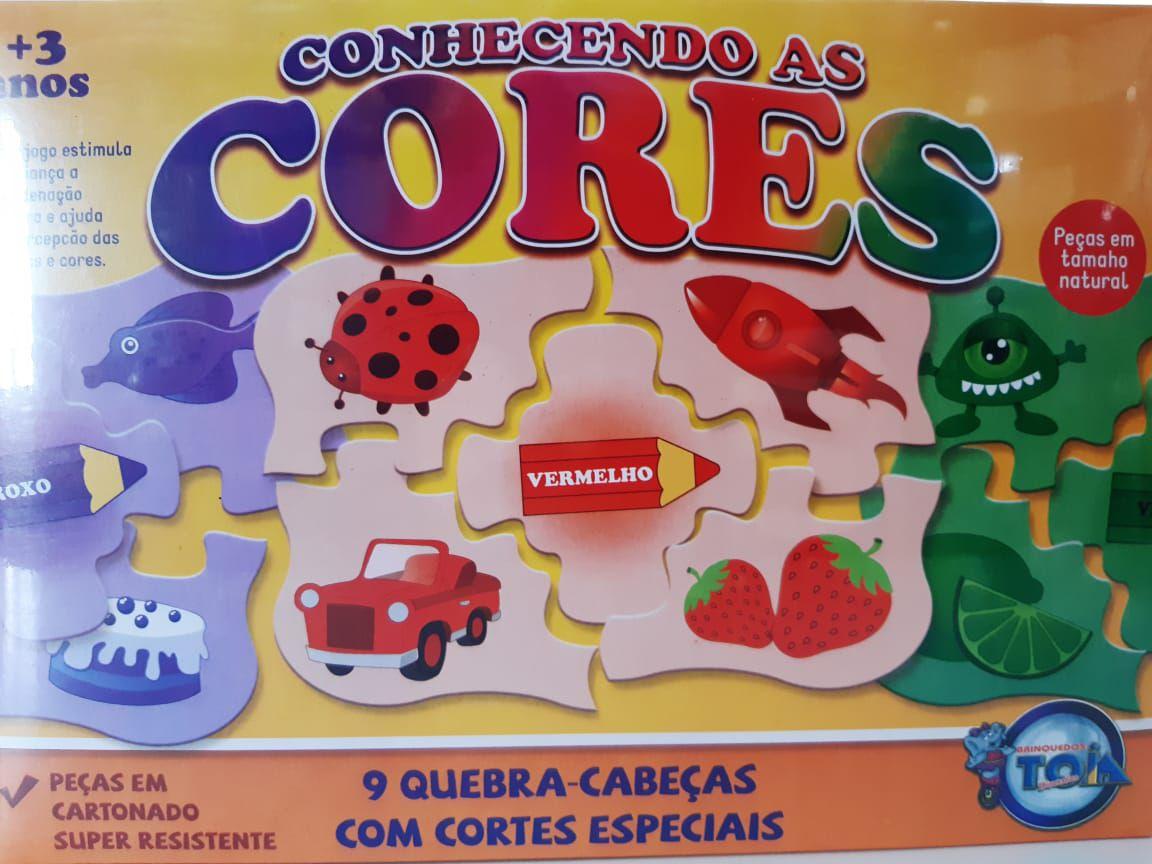 CONHECENDO AS CORES - BRINQUEDOS TOIA DIVERSÕES