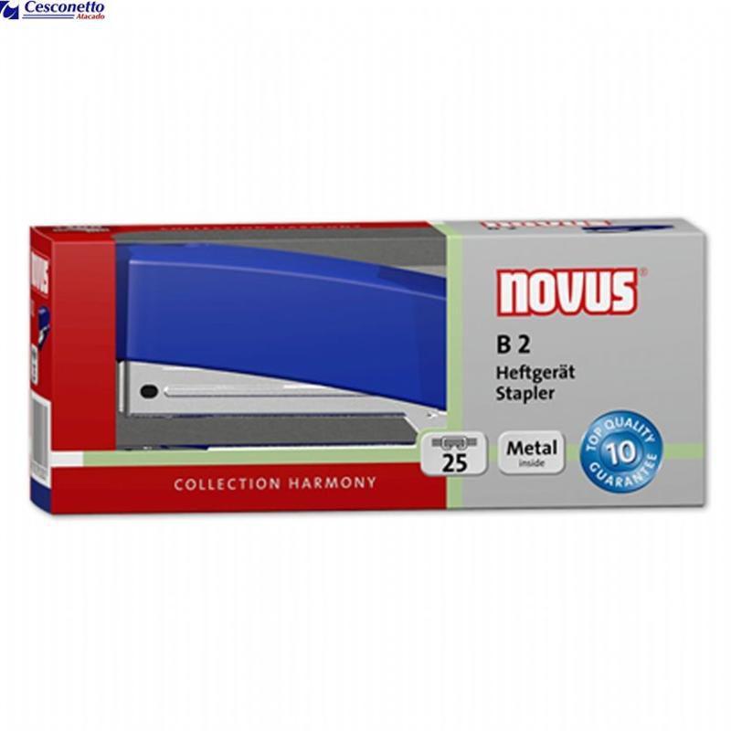 Grampeador de Mesa 25 folhas B2 - Novus
