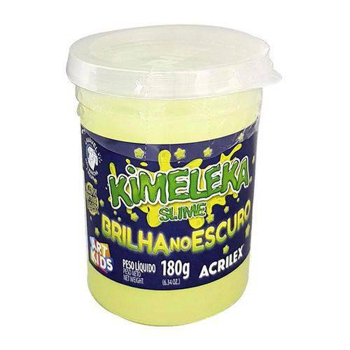 kimeleka - slime - brilha no escuro