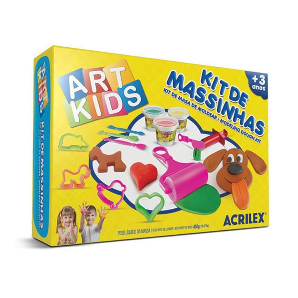 Kit Modeling Dough Kit -Art Kids Acrilex