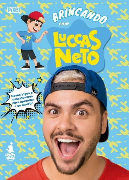 Livro Brincando com Luccas Neto