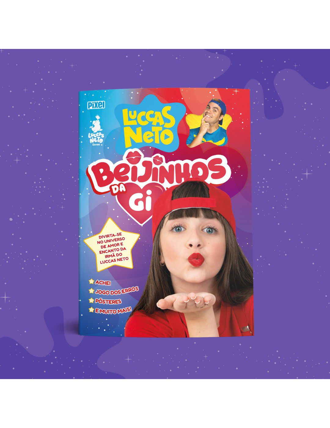Livro Lucas Neto - Beijinhos da Gi