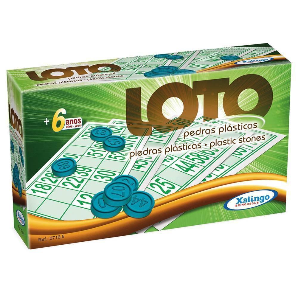 Loto Infantil 24 Cartelas - Xalingo