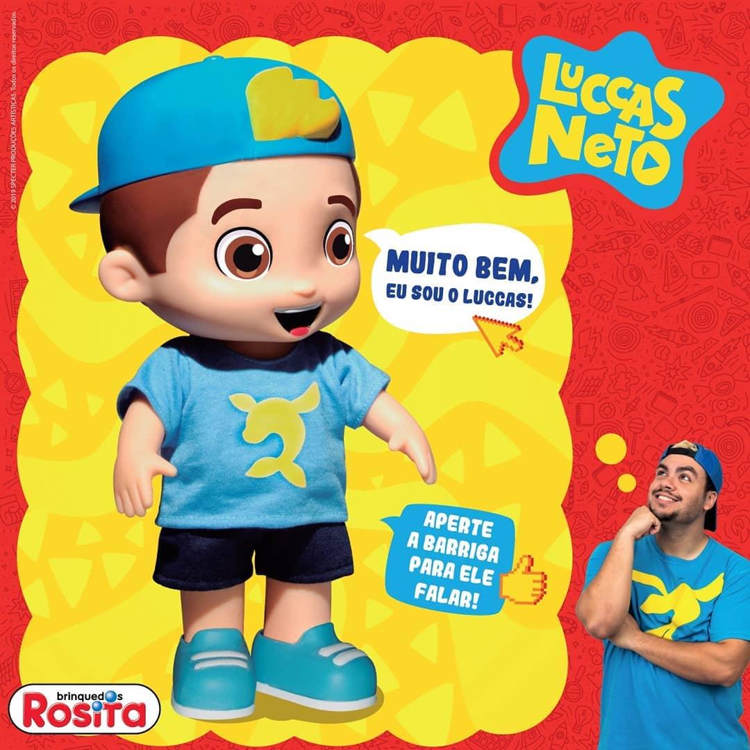 Luccas Neto - boneco com som