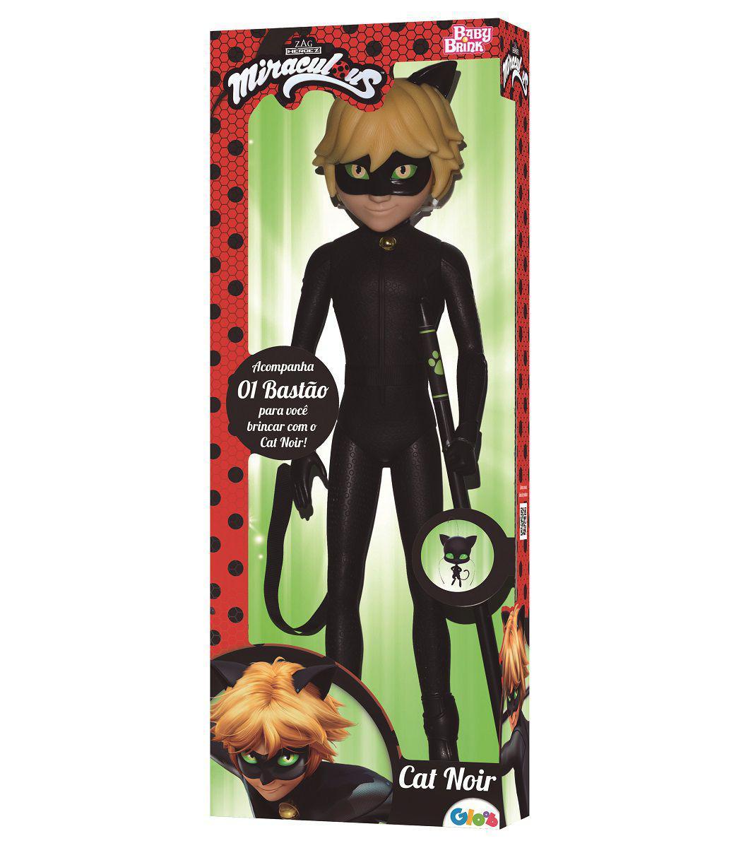 Miraculous - Boneca Cat Noir