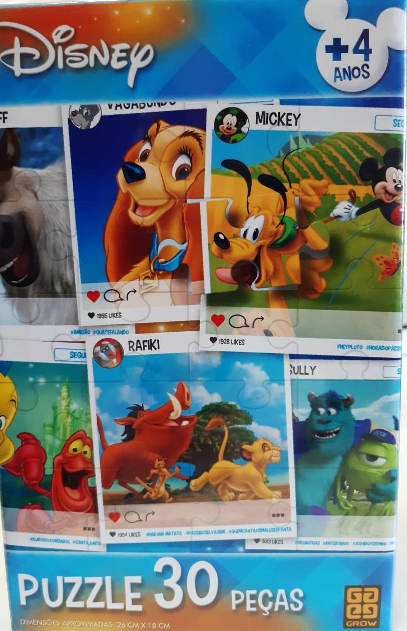 Puzzle 30 peças Disney - GROW