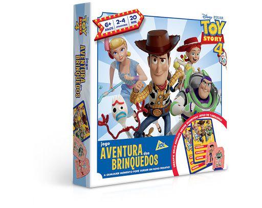 Toy Story 4 – Jogo Aventura dos brinquedos - jak