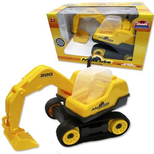 Trator Escavadeira Mamute - Usual Brinquedos