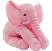 Almofada Elefante de Pelúcia Rosa - Buba Baby