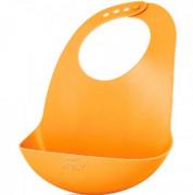 Babador Silicone - Laranja - Philips Avent