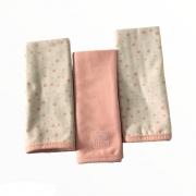 Babetes Paninho de Boca Billo Rosa - Minasrey