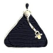 Blanket Naninha Uso Listras Azul - Zip Toys