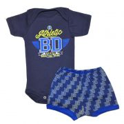 Body Manga Curta e Shorts Athletic - Baby Duck