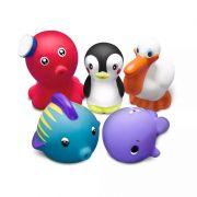 Brinquedos para Banho Animais Marinhos 1 - Comtac Kids
