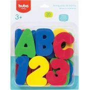 Brinquedos para Banho Letras e Números - Buba Baby